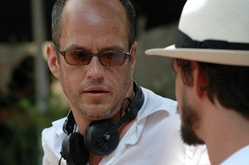 Director Tom Kalin on the set of IFC Films' Savage Grace