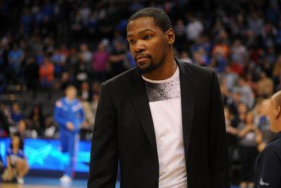 Kevin Durant out for year with foot injury, Thunder announce