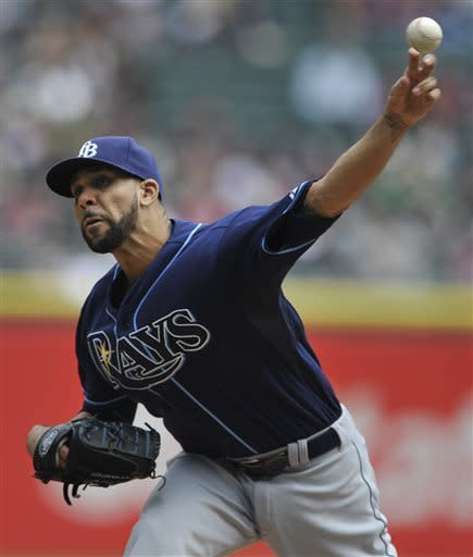 Price wins 1st of season, Rays beat White Sox