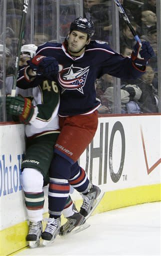 Blue Jackets top Wild 3-1