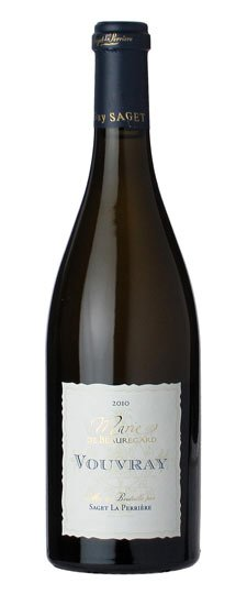 #48 92 Points Guy Saget Vouvray Marie de Beauregard 2010 , $20