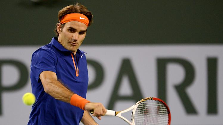 Tennis: BNP Paribas Open-Nadal vs Federer