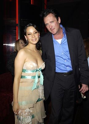 Premiere: Lucy Liu and Michael Madsen at the LA premiere of Miramax's Kill Bill Vol. 2 - 4/8/2004