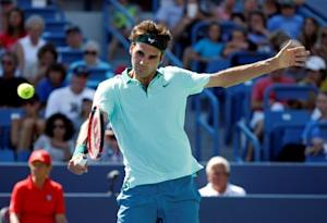 Tennis: Western and Southern Open-Federer vs Pospisil