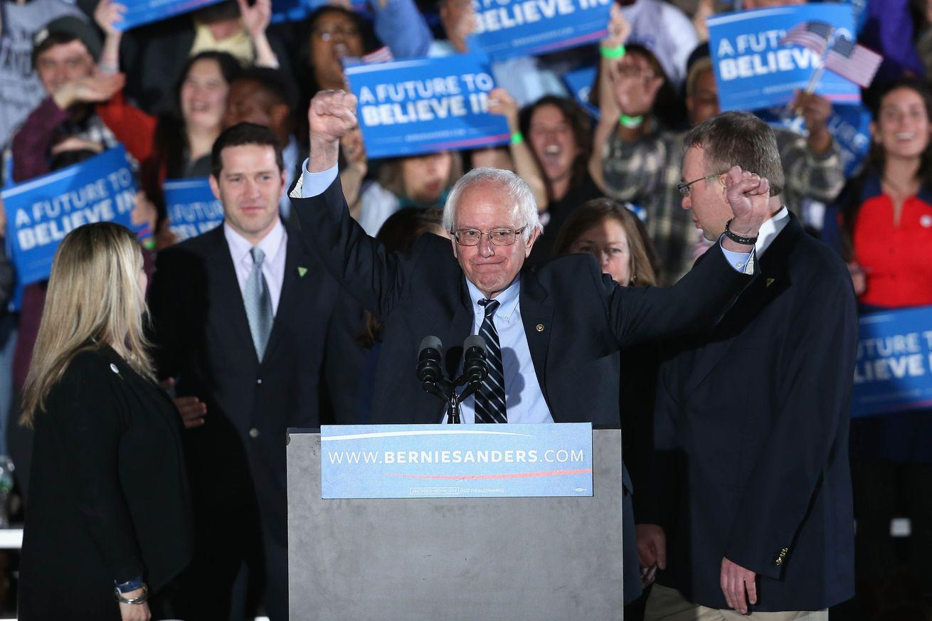 Read: Bernie Sanders's victory speech in New Hampshire
