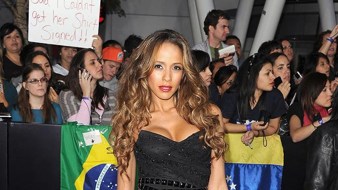 The Twilight Saga Breaking Dawn Part 1 2011 LA Premiere Dania Ramirez