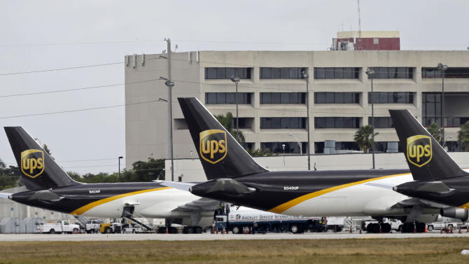 UPS profit falls on shift to lower cost services