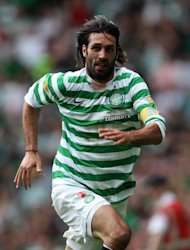 Georgios Samaras grabbed a late winner for Celtic