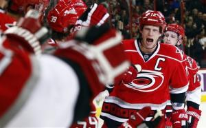 Hurricanes earn 1st win by beating Sabres 6-3