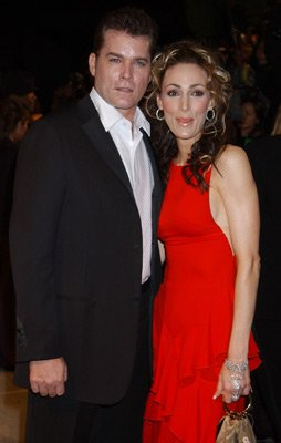 Ray Liotta and wife Michelle Vanity Fair Party Hollywood, CA 3/24/2002