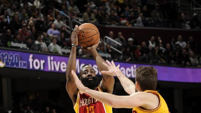 Harden, Rockets beat Cavs without Howard