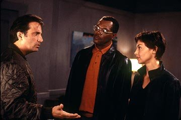 Andy Garcia , Samuel L. Jackson and Ashley Judd in Paramount's Twisted