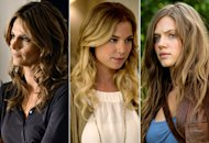 Stana Katic, Emily Van Camp, Tracy Spiradakos  | Photo Credits: Eric McCandless/ABC; Colleen Hayes/ABC; Bob Mahoney/NBC