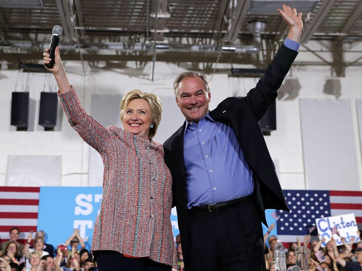Hillary Clinton Chooses Tim Kaine As Vice Presidential Pick
