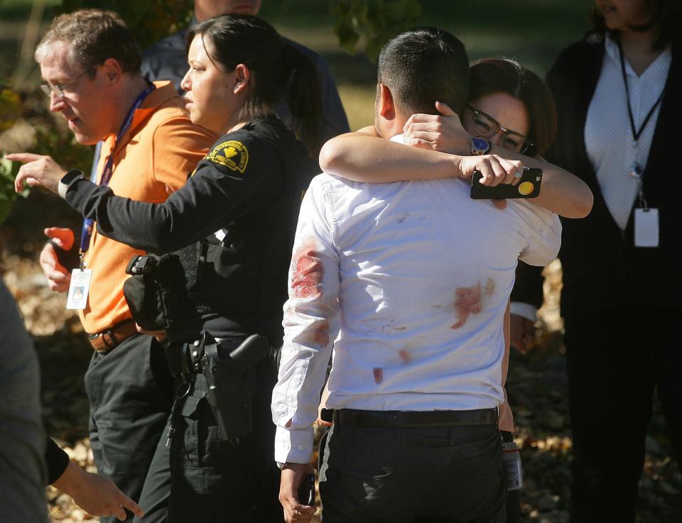 San Bernardino California shooting aftermath