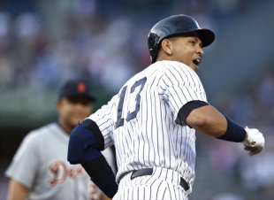 Alex Rodriguez became the 29th player in MLB history with 3,000th hits. (AP)