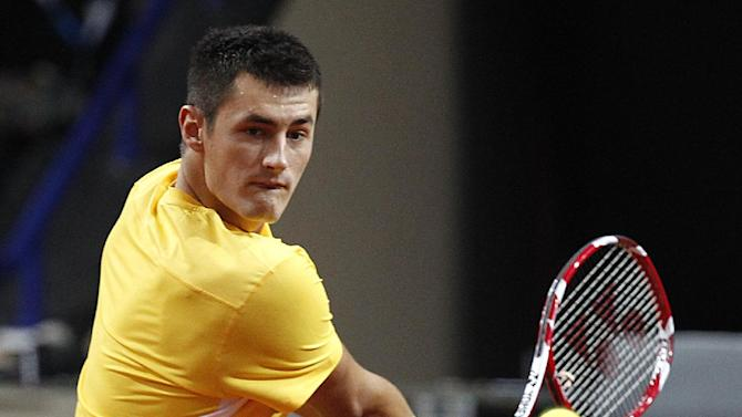 Tomic reaches 2nd round at Thailand Open