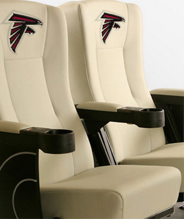 Seats that vibrate whenever a big tackle goes in. Amazing!