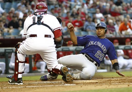 Rookie Friedrick stifles D-backs, Rockies win 4-0