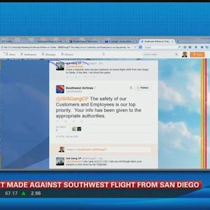 Threat made against Southwest flight from San Diego