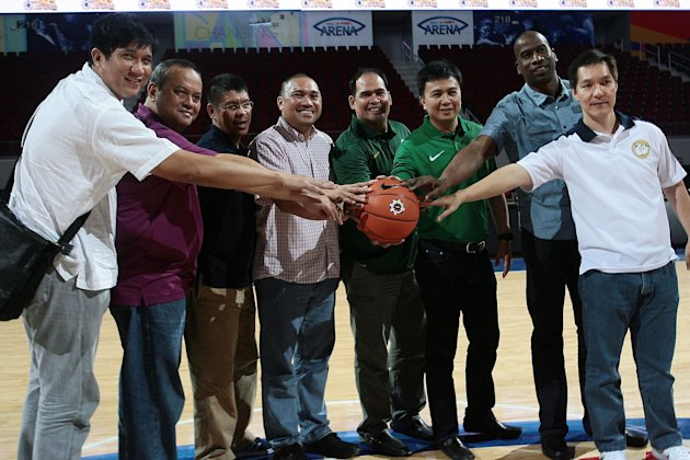 What do the six other coaches have to say about the UAAP finals? (Note: Boycie Zamar has replaced Jerry Codinera, seen at far left/NPPA)