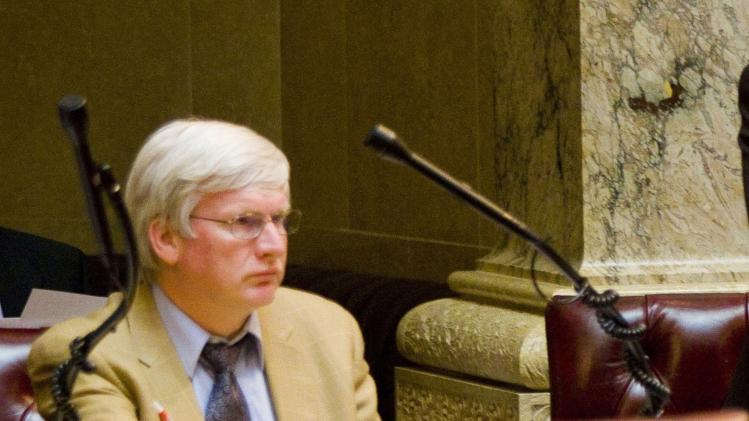 File photo of Wisconsin state Senator Grothman before a Senate hearing at the state Capitol in Madison, Wisconsin