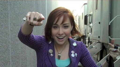 Allison Scagliotti's Video Blog: Do It With Style