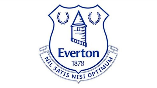 New Everton club badge crest (Official club Twitter)
