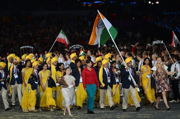 "> Opening Ceremony: Indian Delegation get's ""gatecrashed"" by mysterious woman - Photo posted in Wild videos, news, and other media 