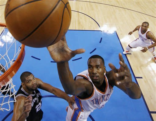 Durant takes charge, pushes Thunder to NBA finals