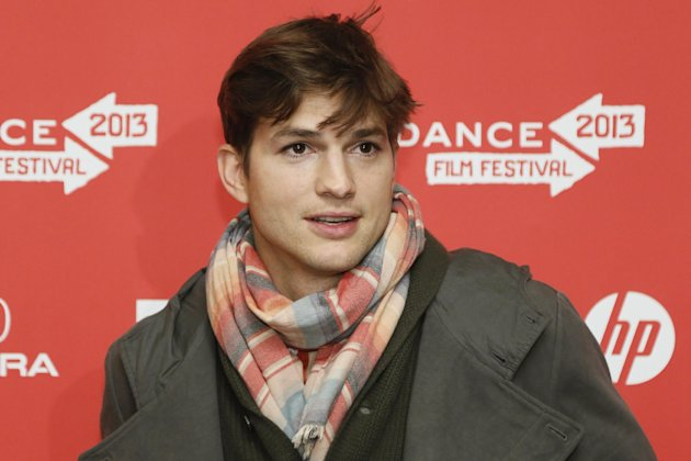 "Actor Ashton Kutcher, who portrays Apple's Steve Jobs in the film ""jOBS,"" poses at its premiere during the 2013 Sundance Film Festival on Friday, Jan. 25, 2013 in Park City, Utah. (Photo by Danny Molo"