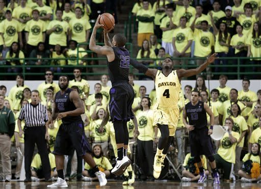 No. 13 K-State 64-61 beats Baylor on McGruder 3