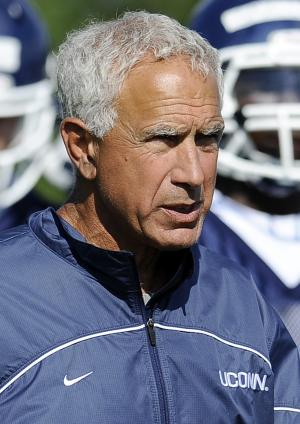 Pasqualoni fired at UConn after 0-4 start