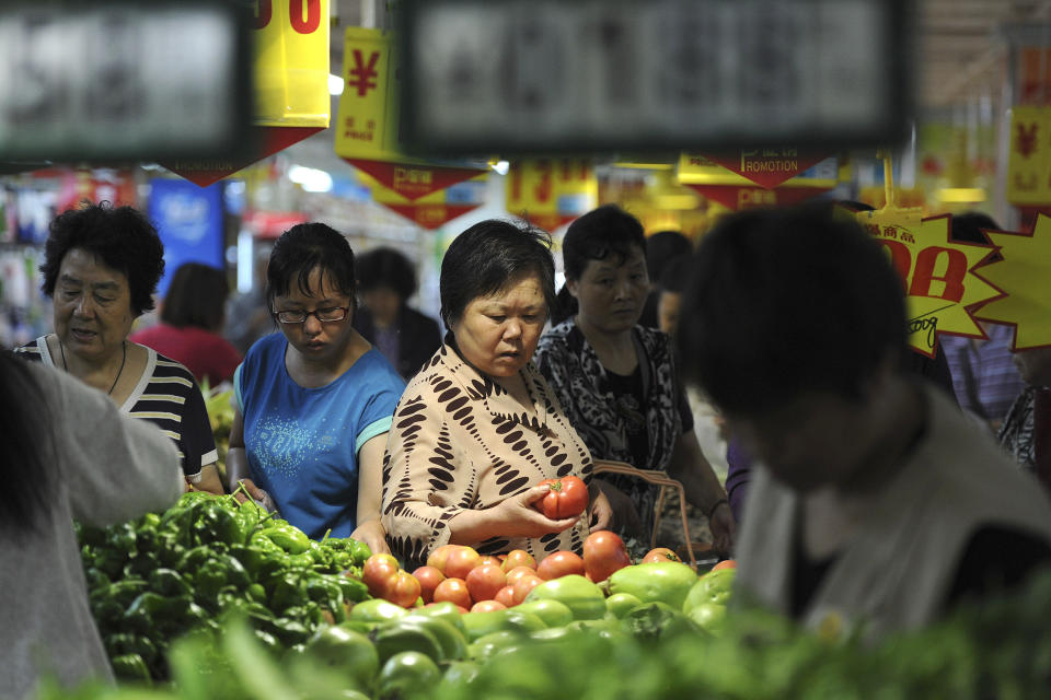 China's May inflation rises to 2.1 percent