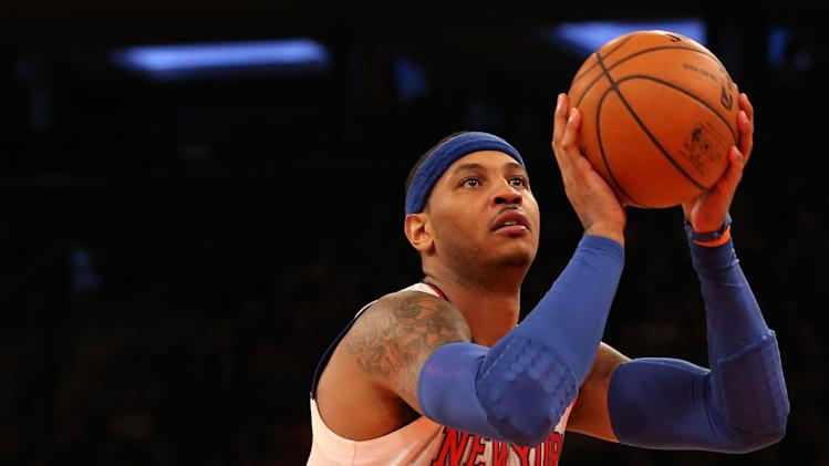 NBA: Detroit Pistons at New York Knicks