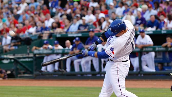 MLB: Oakland Athletics at Texas Rangers