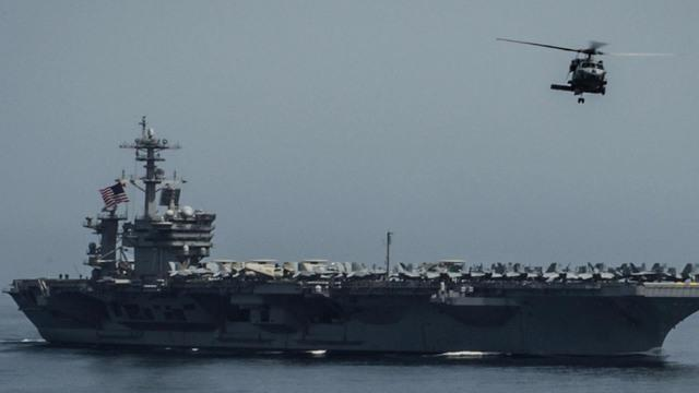 U.S. ship may intercept Iranian aid to Yemeni rebels