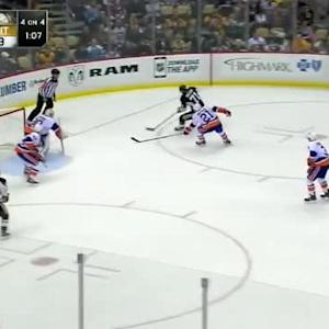 Chad Johnson Save on Evgeni Malkin (13:21/2nd)