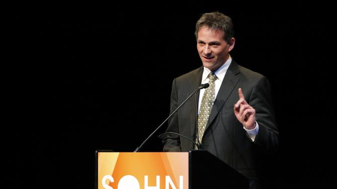 Einhorn, founder and president of Greenlight Capital, speaks at the Sohn Investment Conference in New York