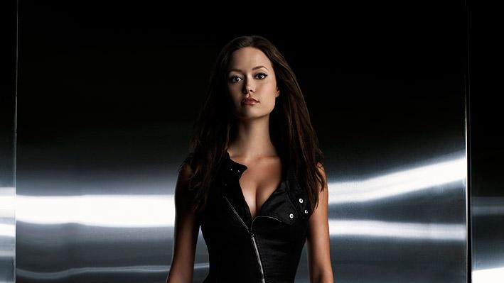 The beautiful but potentially dangerous Cameron (Summer Glau) on the second season of Terminator: The Sarah Connor Chronicles.