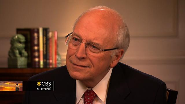 "Cheney on how health changed him: ""You don't sweat the little stuff"""