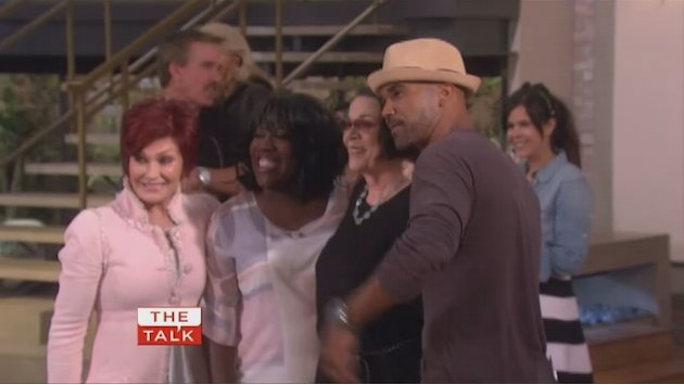 The Talk - Shemar Shows 'Talk' Love