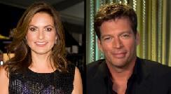 Mariska Hargitay, Harry Connick Jr.  -- Getty ImagesAccess Hollywood