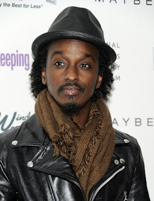"""FILE - In this April 12, 2011 file photo, musician K'Naan attends Good Housekeeping's """"Shine On"""" Women Making History theatrical event at Radio City Music Hall in New York. K'Naan is upset that Mitt Romney used his song """"Wavin' Flag"""" during his speech Tuesday night, and the rapper is seeking legal action as a result. (AP Photo/Evan Agostini, file)"""