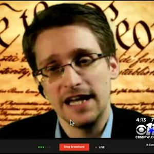 Edward Snowden Speaks At SXSW