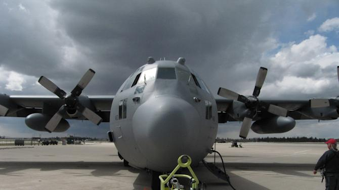 Wyo., NC C130 crews practice fighting wildfires
