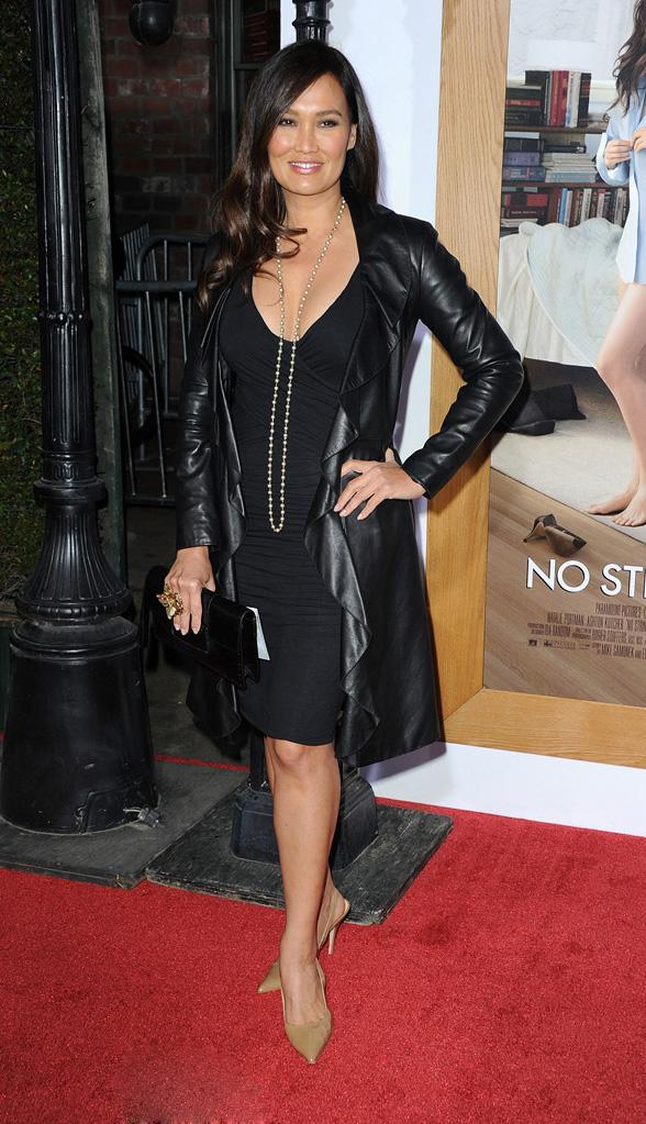 No Strings Attached LA Premiere 2011 Tia Carrere