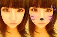 T-ara's Boram transforms into a cat