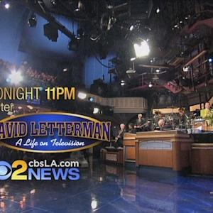 Tonight On CBS2 News At 11PM: How David Letterman Changed A Local Artist's Life