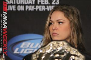 Ronda Rousey Continues to Make History as First Female to Make UFC Pound-For-Pound Rankings